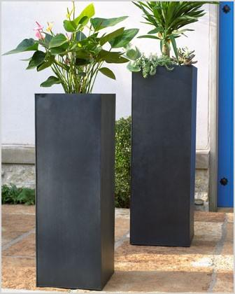 tall planter traditional indoor pots and planters