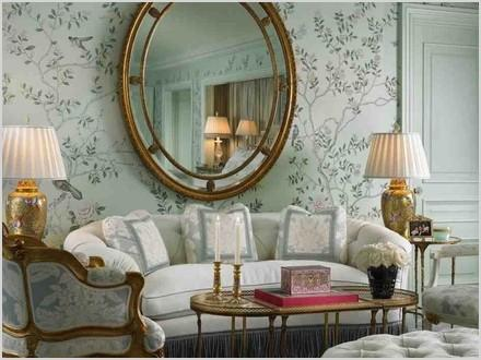 how to decorate a living room with large wall mirror 8e45171e5e516653