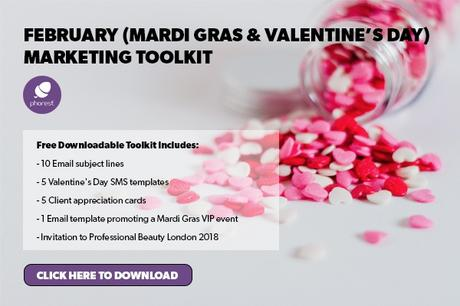 Creative Mardi Gras And Valentine\'s Day Salon Marketing Ideas ...