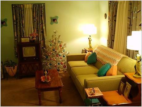 mid century modern living room design ideas