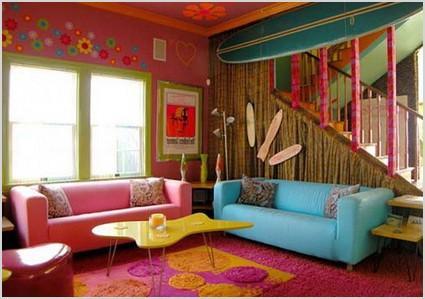 decoracion estilo hippie