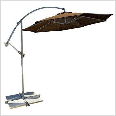 coolaroo 10 round cantilever patio umbrella 339968 448899 clr1071