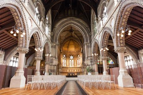 St. Stephens HampsteadWedding interior shot
