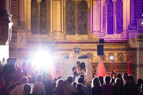 Epic first dance photograph St Stephens Hampstead Wedding Photography