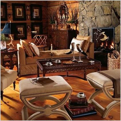 warm and cozy wildlife and hunt themed inspired rooms