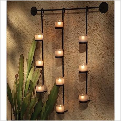 wall decor candles