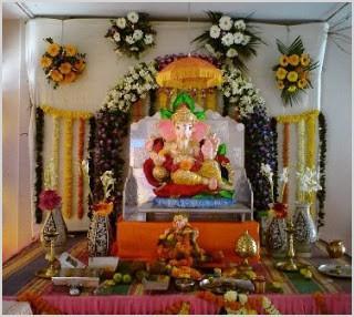 ganesh chaturthi 2012 decoration