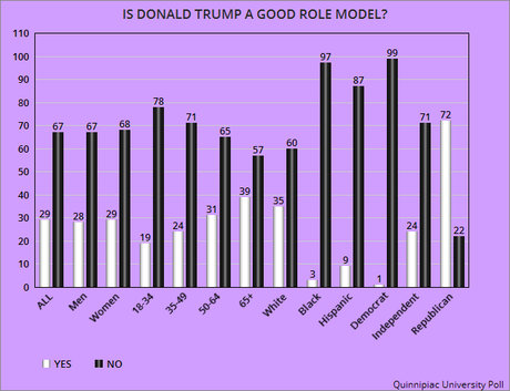 Americans Say Donald Trump Is NOT A Good Role Model