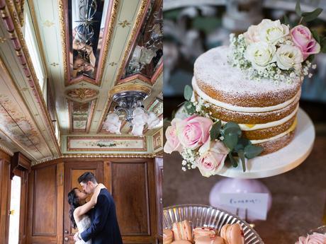 Preston Court Wedding Photography couples portrait and cake