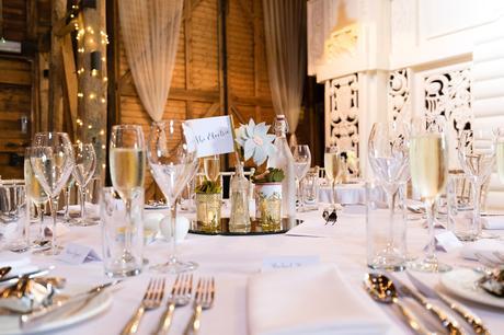 Preston Court Wedding Photography table detail