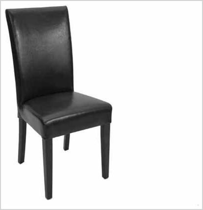fan back n high back comfortable parsons leather dining chair black contemporary dining chairs