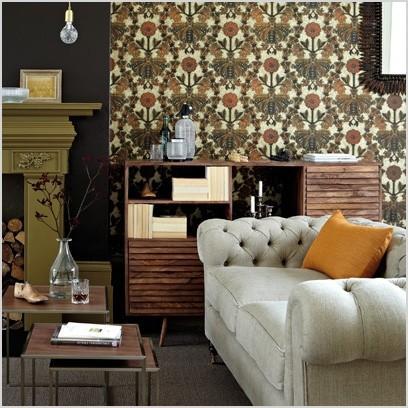living room wallpaper