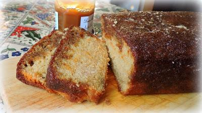 Salted Caramel Drizzle Loaf