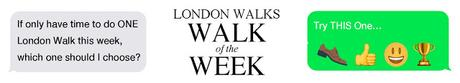 #LondonWalks Walk of the Week: #Shakespeare & #Dickens