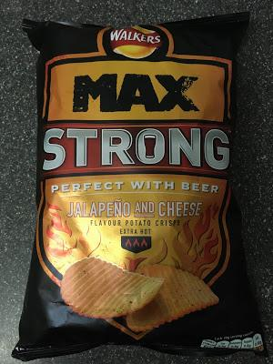 Today's Review: Walkers Max Strong Jalapeno And Cheese