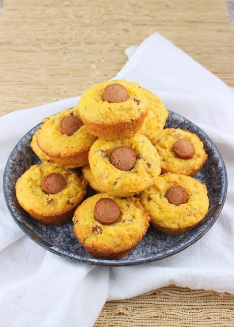 Frito Corn Dog Muffins #MuffinMonday