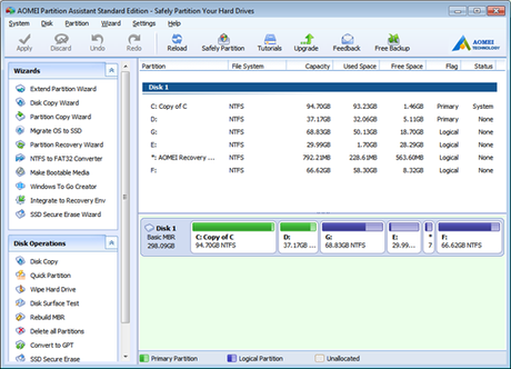 Optimize Partition, Disk & System With All-in-one AOMEI Partition Assistant