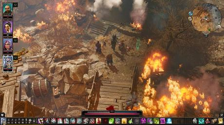 Divinity Original Sin 2 The Pits fire
