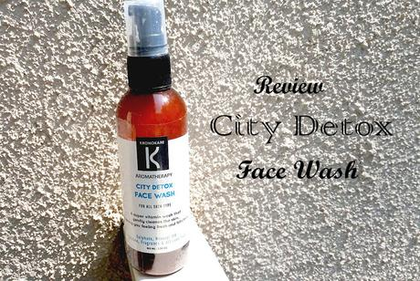 Review // Kronokare City Detox Face Wash for All Skin Type