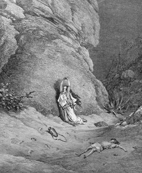 Bible reading Plan thoughts: Hagar in the desert