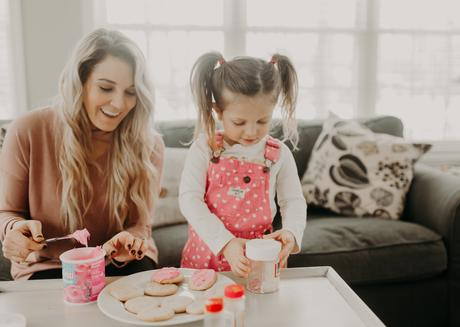 Valentine's Day activities to do with your kids; make and decorate cookies
