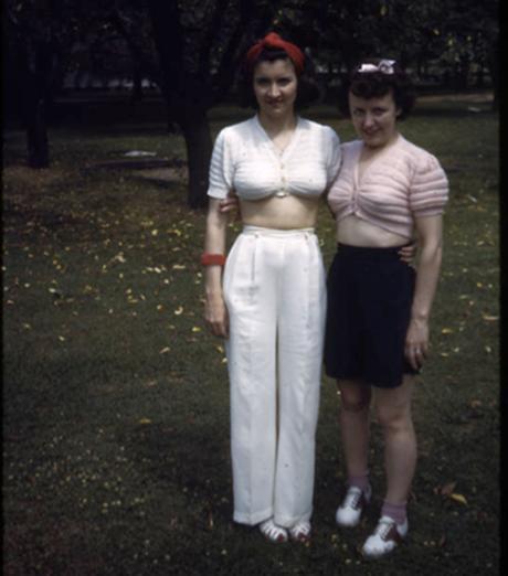 Kodachrome Girls 1940s