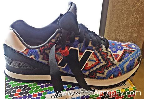 huge discount f9052 ab328 Ricardo Seco x New Balance 574 Sneakers - Paperblog