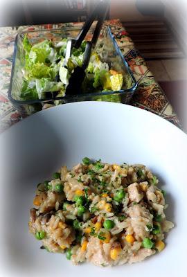 Creamy Turkey & Rice