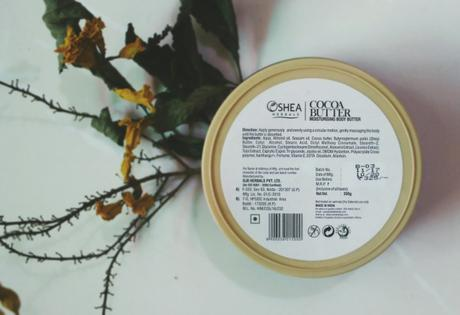 Oshea COCOA BUTTER Body Butter Review
