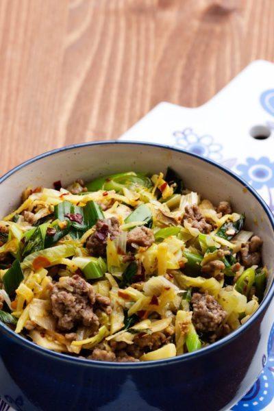 Keto Asian cabbage stir-fry