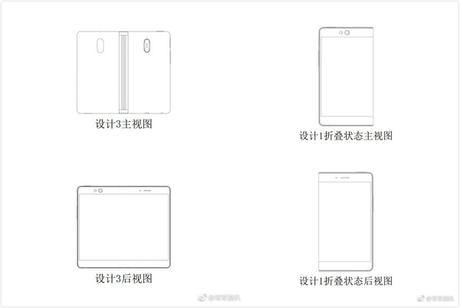 oppo, bezel less phones, curved display phones, foldable phones, foldable display phone, oppo upcoming phones