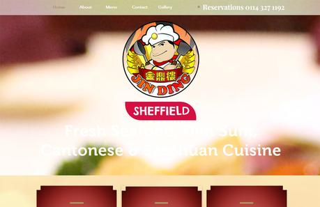 Local SEO Audit of Jin Ding Chinese Restaurant Sheffield Website