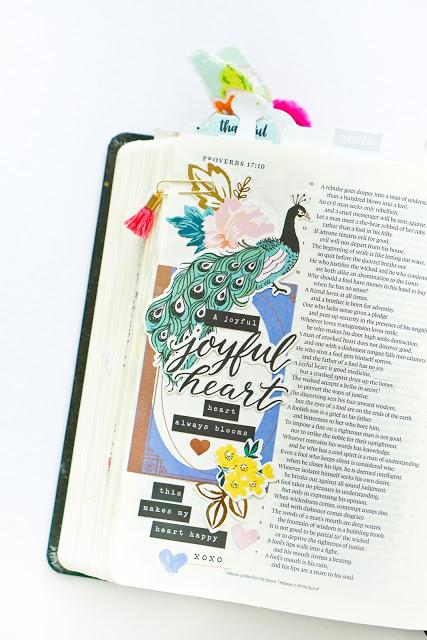 Crate Paper Design Team : Bible Journaling