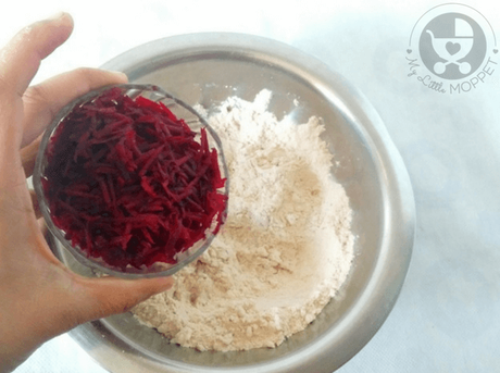 Beetroot Paratha for Toddlers