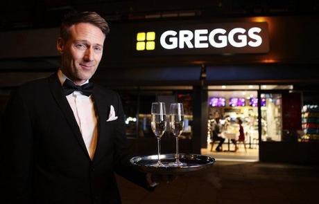 Greggs romantic valentine's candlelit dining experiece