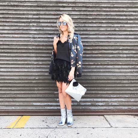 NYFW Street style. Follow the link on how to attend NYFW.