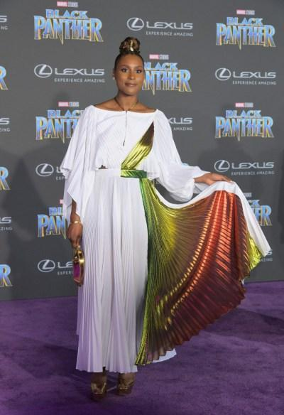 [Pics!] The Black Panther Purple Carpet Hollywood Premiere Was Lit!