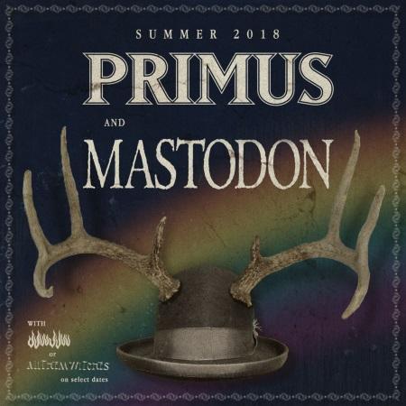 Primus + Mastodon: Summer Tour dates