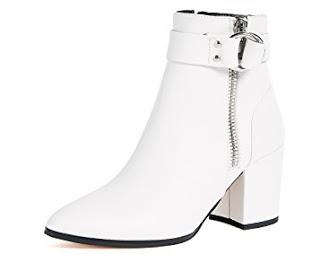 Shoe of the Day | Steven Johanna Block Heel Ankle Boots