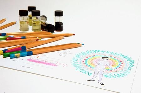 Inspirational and aura healing perfumes from YOSH at Parfumerie Trésor