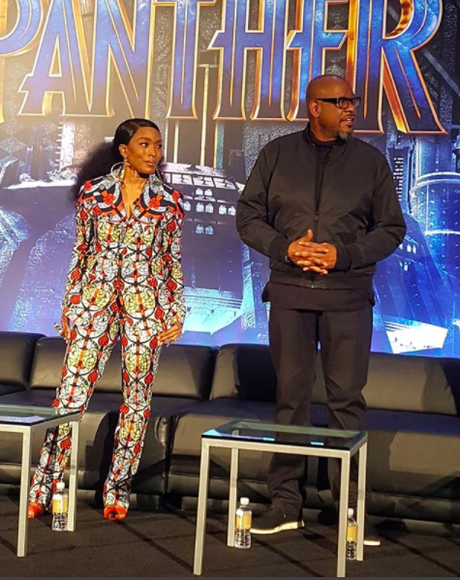 [Pics!] 'Black Panther' Press Junket In Beverly Hills