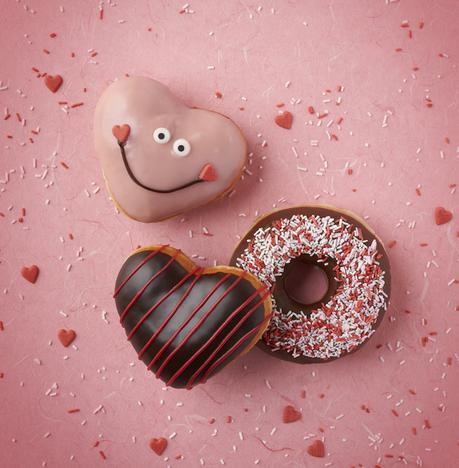 Love is in the air this Valentine's Day at Krispy Kreme