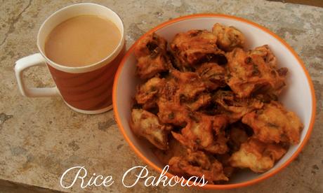 Rice Pakoras / Chawal Ke Bhajiyae - Chattisgarh Cuisine