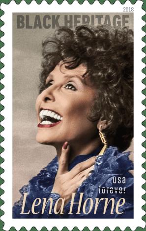 Lena Horne Stamp Released For Black History Month