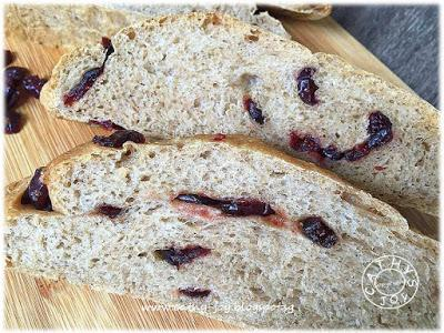 Wholemeal Cranberry Bread 全麦蔓越莓面包