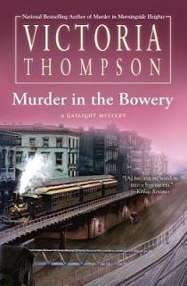 Murder in the Bowery by Victoria Thompson- Feature and Review