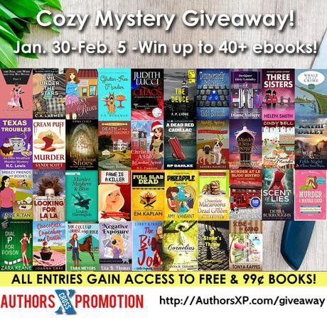 Squirrels are Insane…and a bunch of cozy book deals and giveaways