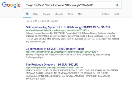 SEO Audit of Forge Sheffield Accountants Website