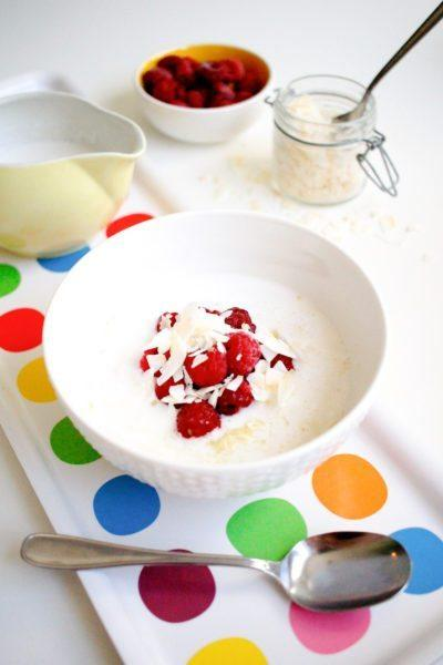Keto coconut porridge