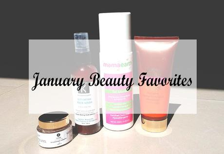 January Skincare Beauty Favorites / 2018
